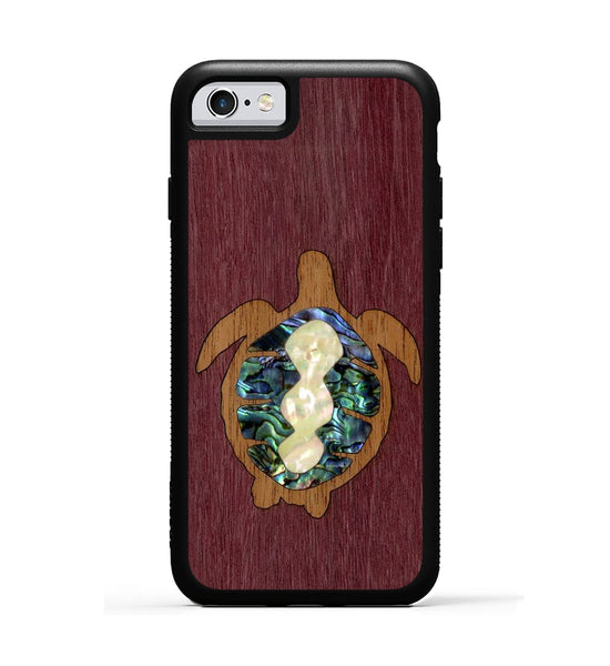 Sea Turtle Inlay - iPhone 6s Phone Case