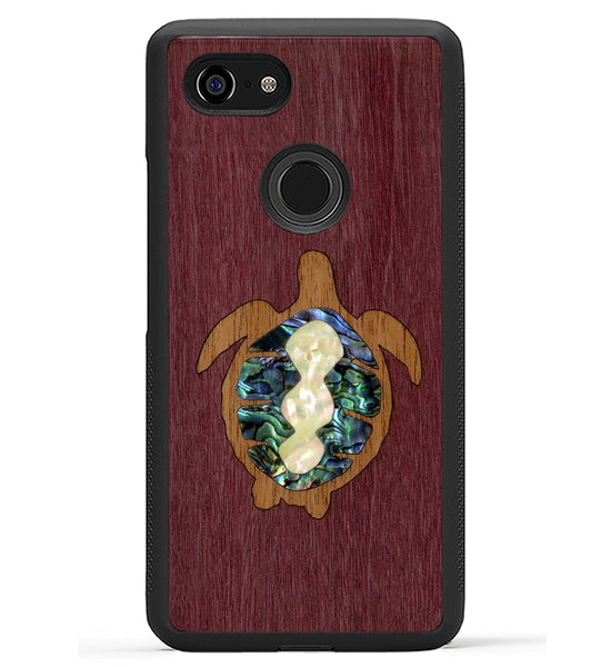 Sea Turtle Inlay - Pixel 3 XL Phone Case