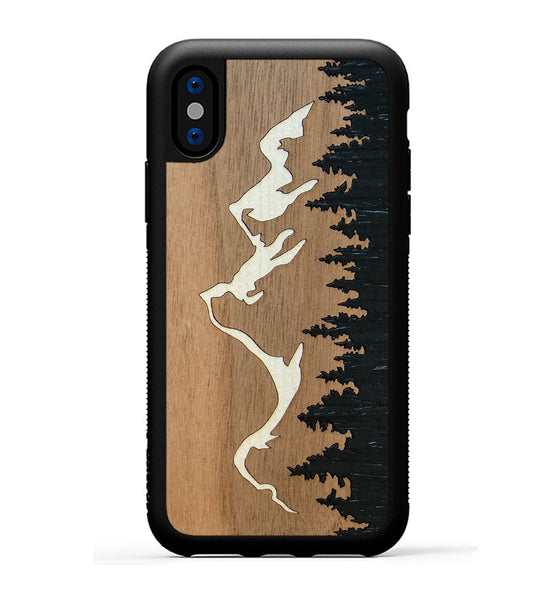 Grand Teton Inlay - iPhone X Phone Case