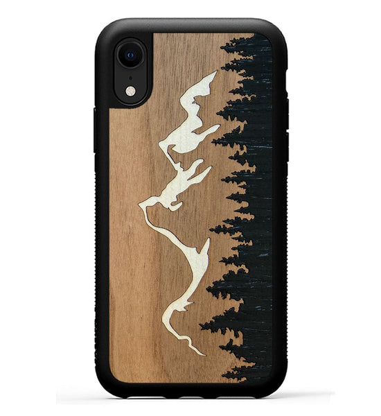 Grand Teton Inlay - iPhone Xr Phone Case