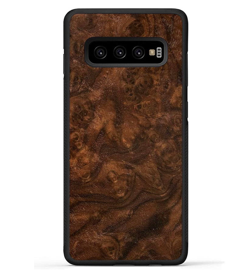 Walnut Burl - Galaxy S10 Plus Phone Case