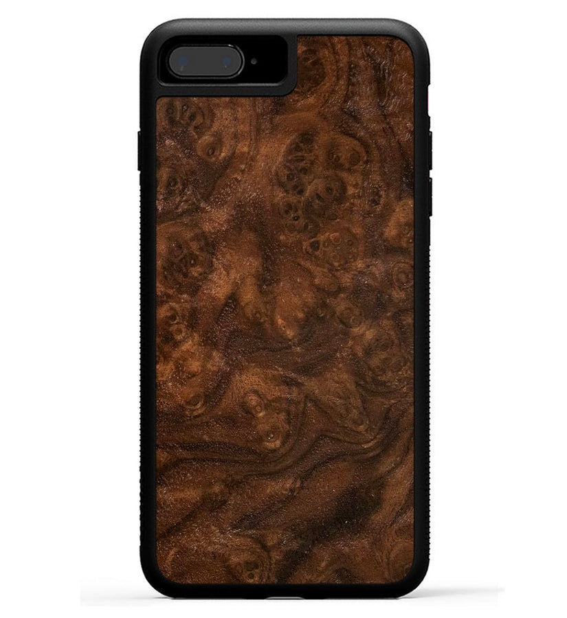 Walnut Burl - iPhone 8 Plus Phone Case