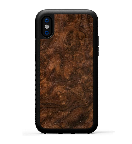 Walnut Burl - iPhone X Phone Case