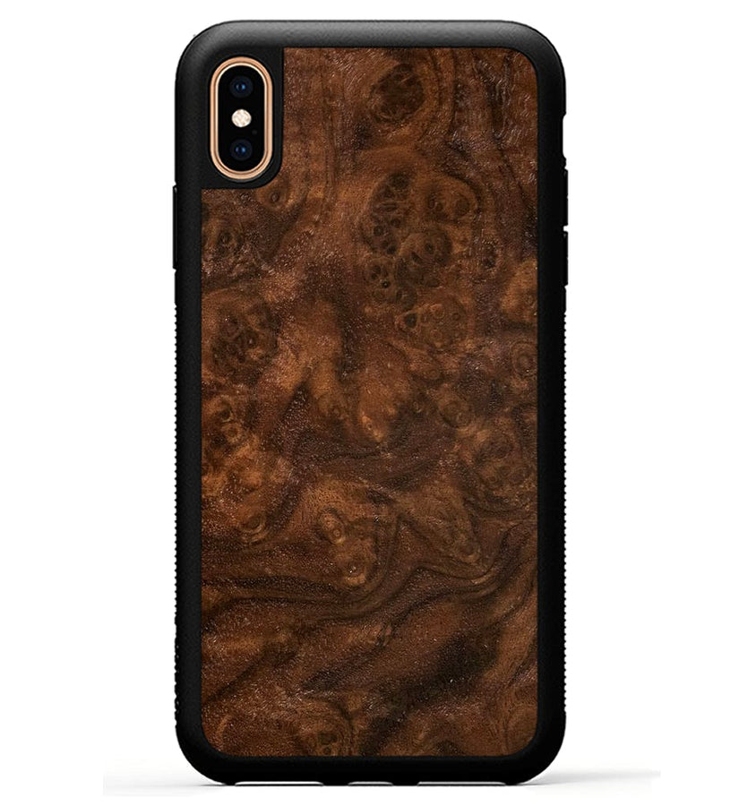 Walnut Burl - iPhone Xs Max Phone Case