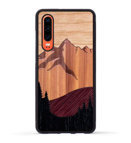 Mt Bierstadt Inlay - Huawei P30 Phone Case
