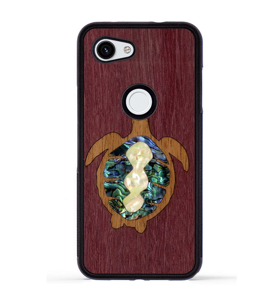 Sea Turtle Inlay - Pixel 3a Phone Case