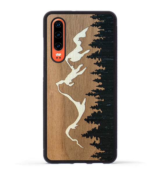 Grand Teton Inlay - Huawei P30 Phone Case