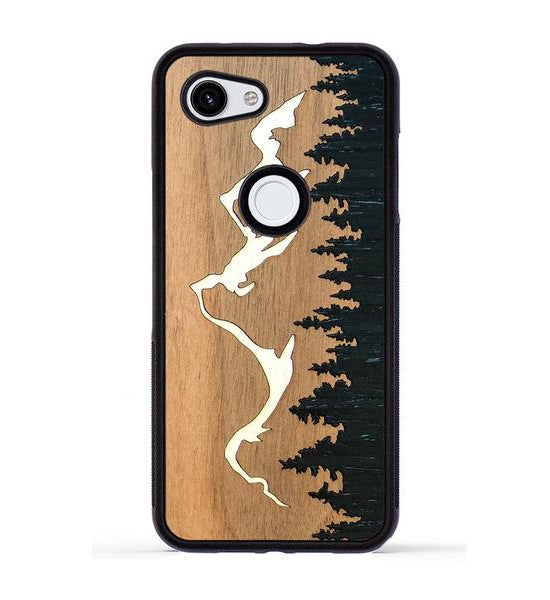 Grand Teton Inlay - Pixel 3a Phone Case