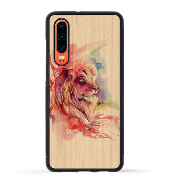 Lion Splash - Huawei P30 Phone Case