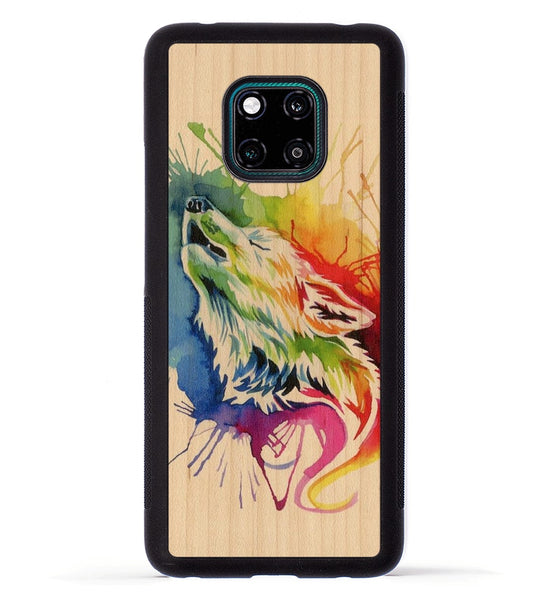Rainbow Wolf - Huawei Mate 20 Pro Phone Case