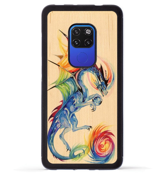 Rainbow Dragon - Huawei Mate 20 Phone Case