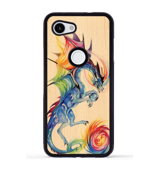 Rainbow Dragon - Pixel 3a Phone Case