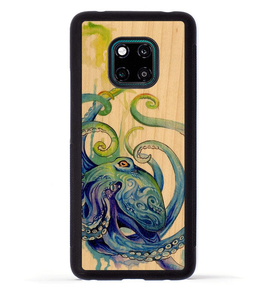 Rainbow Octopus - Huawei Mate 20 Pro Phone Case