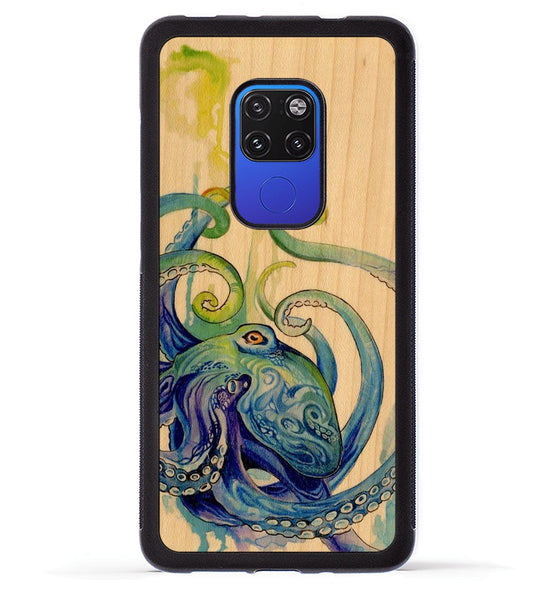 Rainbow Octopus - Huawei Mate 20 Phone Case