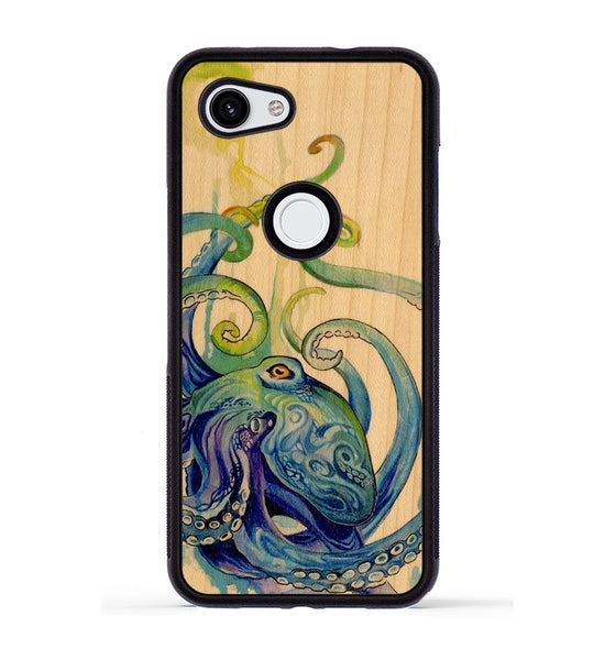 Rainbow Octopus - Pixel 3a Phone Case
