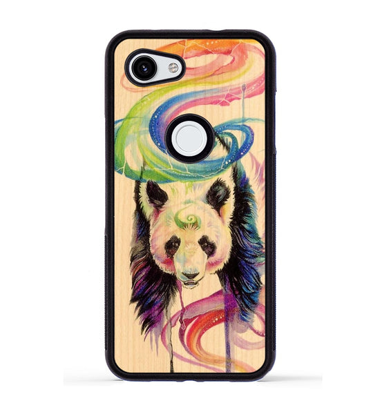Rainbow Panda - Pixel 3a Phone Case