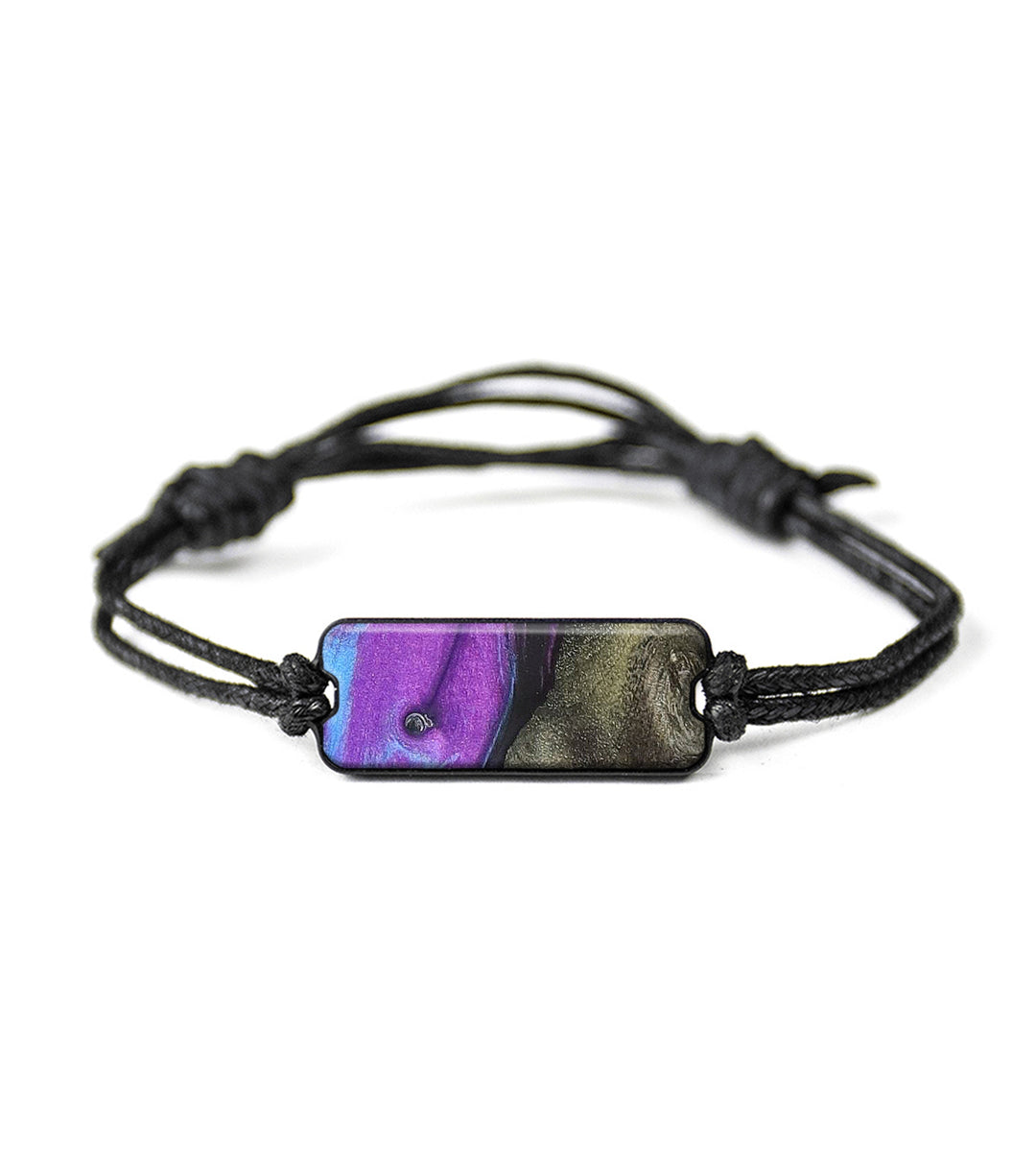 Classic Wood+Resin Bracelet - Vivyan (Purple, 348673)