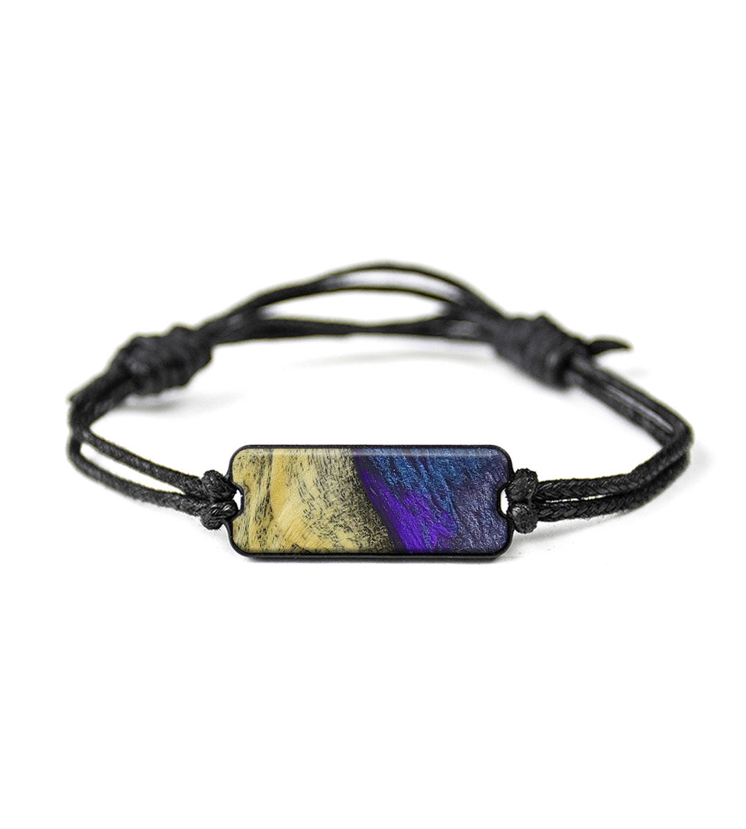 Classic Wood+Resin Bracelet - Shandra (Purple, 348596)
