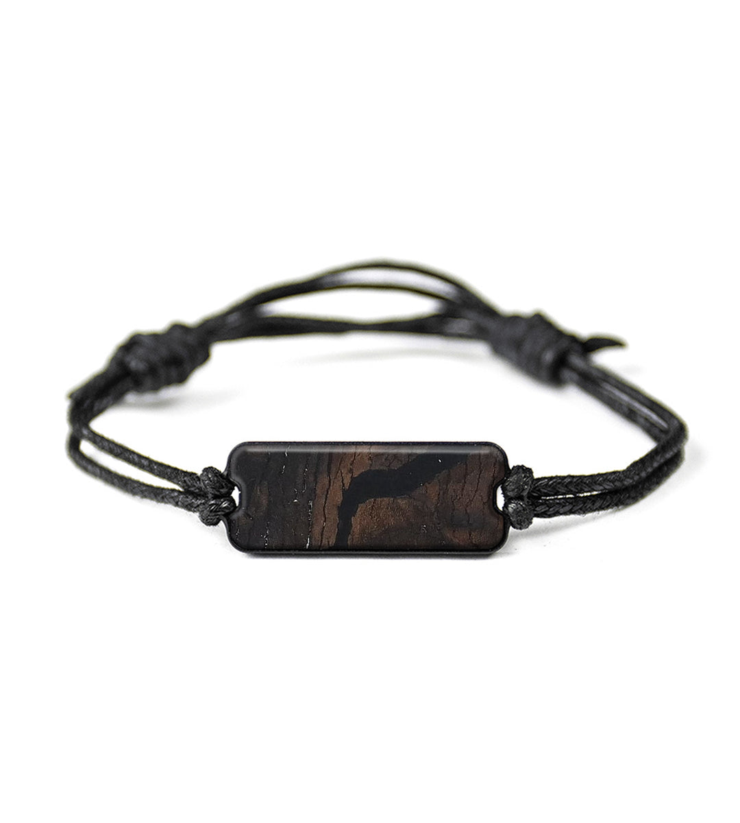 Classic Wood+Resin Bracelet - Cornela (Pure Black, 367148)