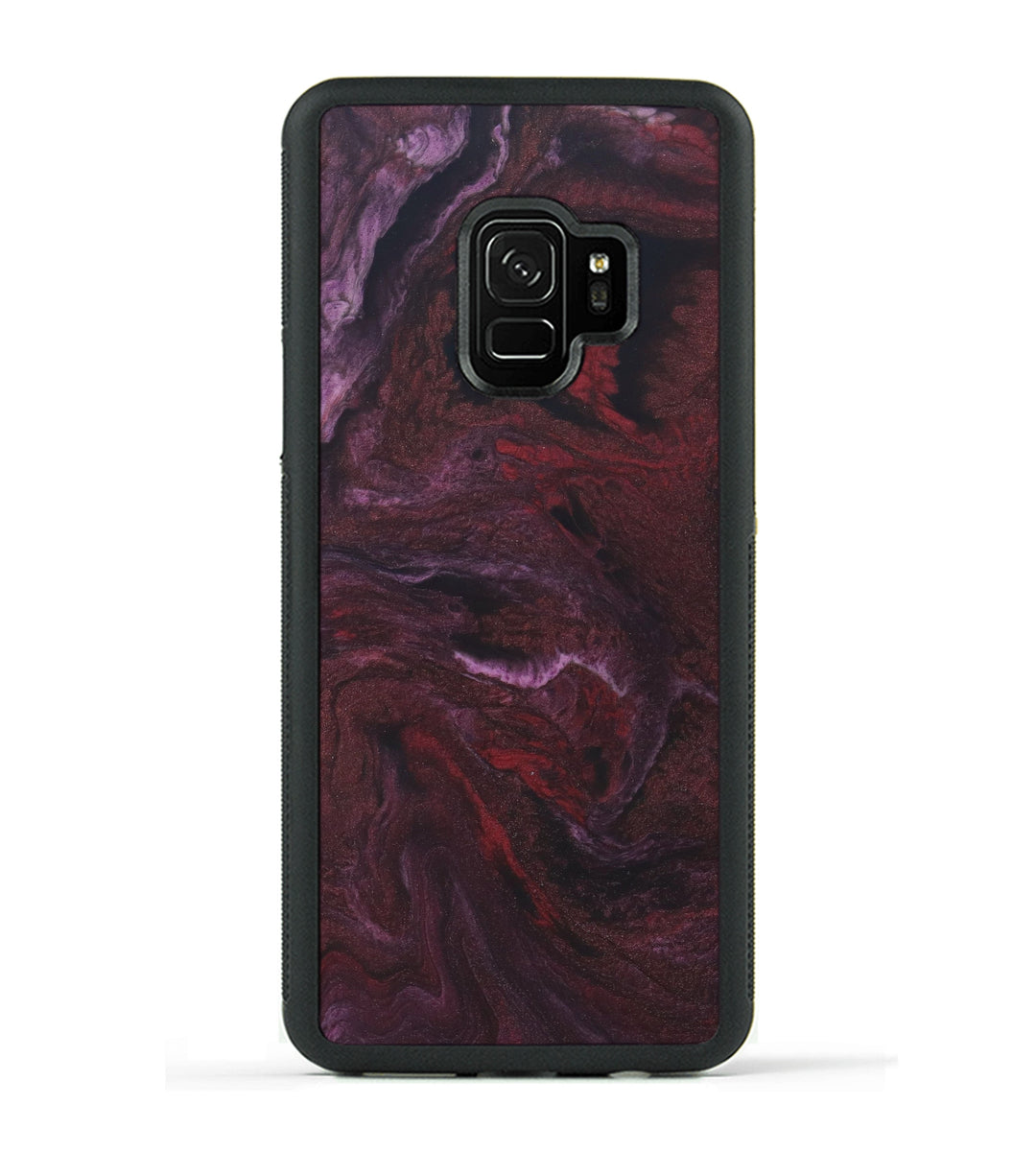 Galaxy S9 ResinArt Phone Case - Farzad (Dark Red, 347673)