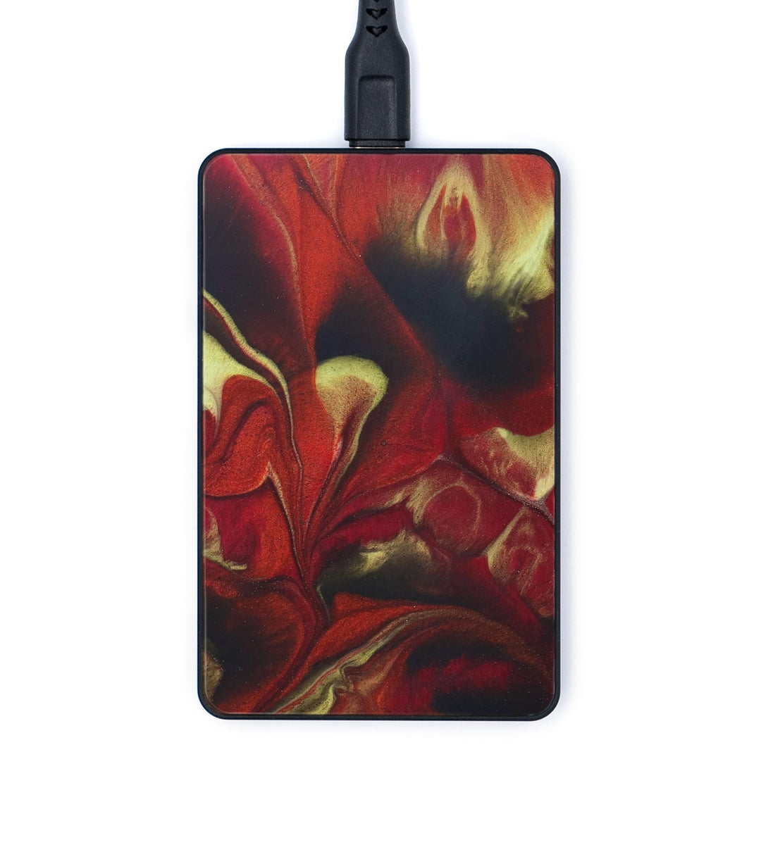 Thin Wireless Charger - Bobbette (Dark Red, 345807)