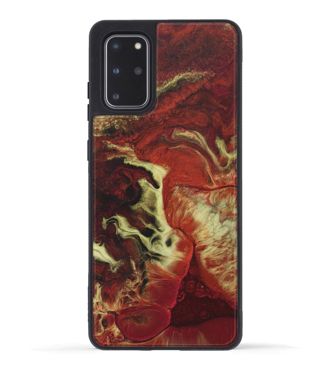 Galaxy S20 Plus ResinArt Phone Case - Phillida (Dark Red, 347949)