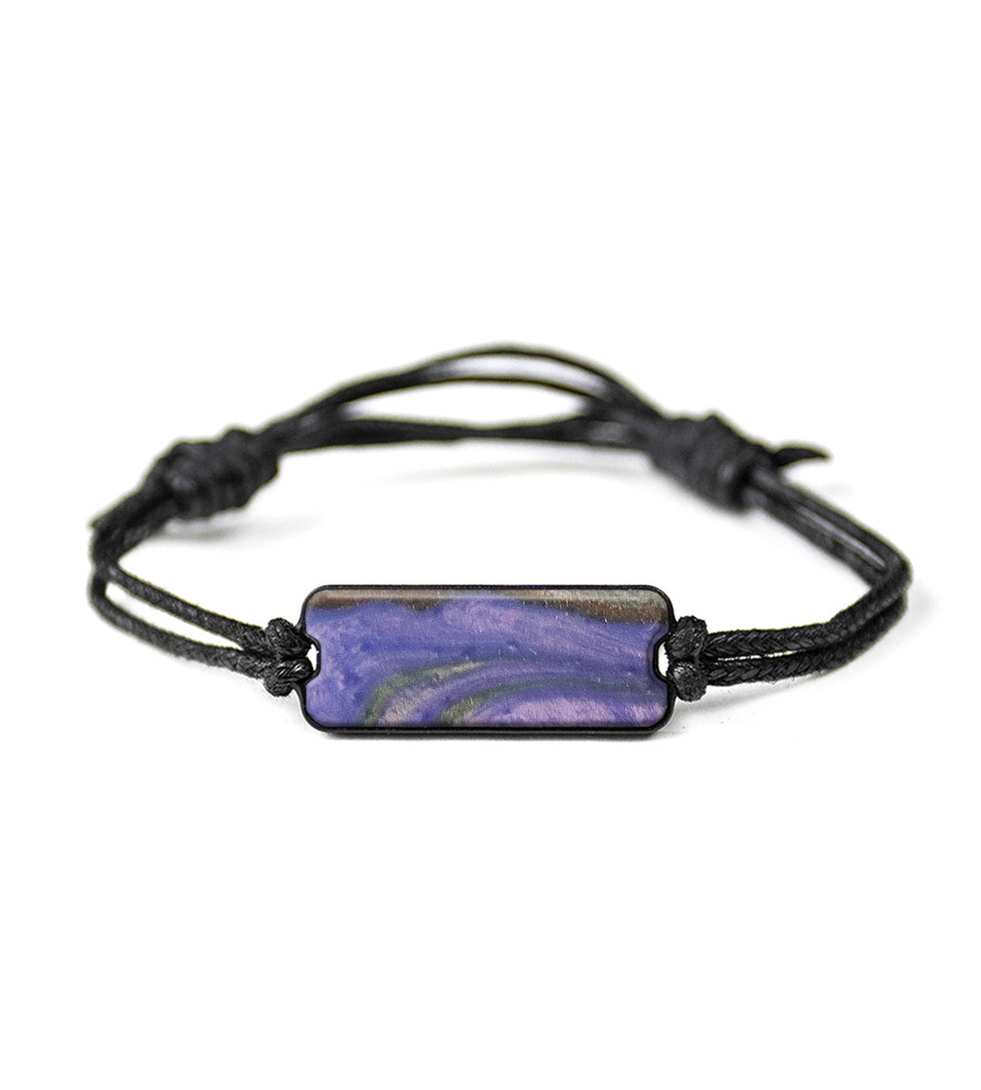 Classic Wood+Resin Bracelet - Valentine (Purple, 394033)