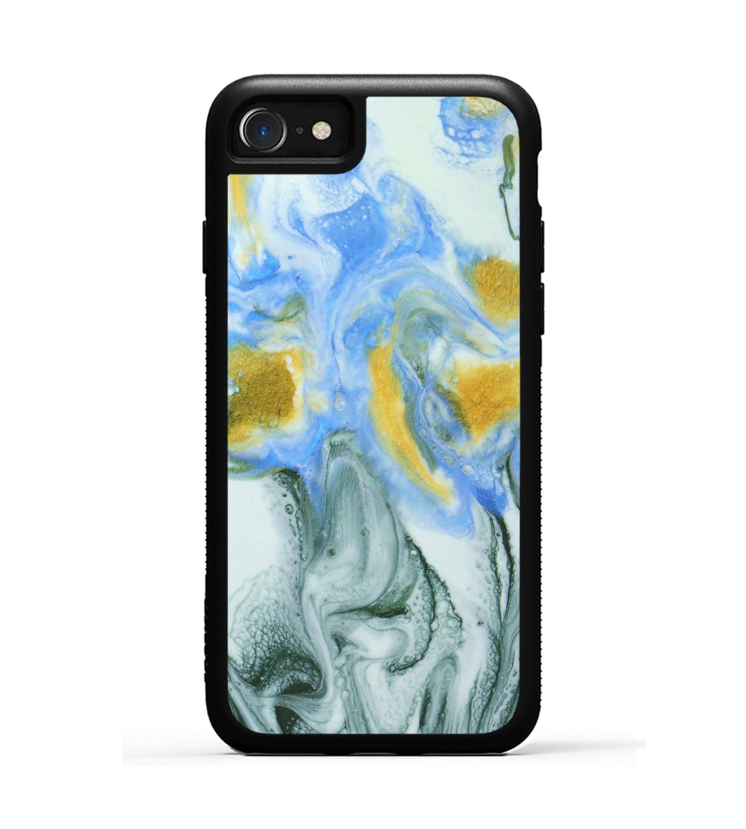 iPhone 8 Case - Dewi (Teal & Gold, 346024)