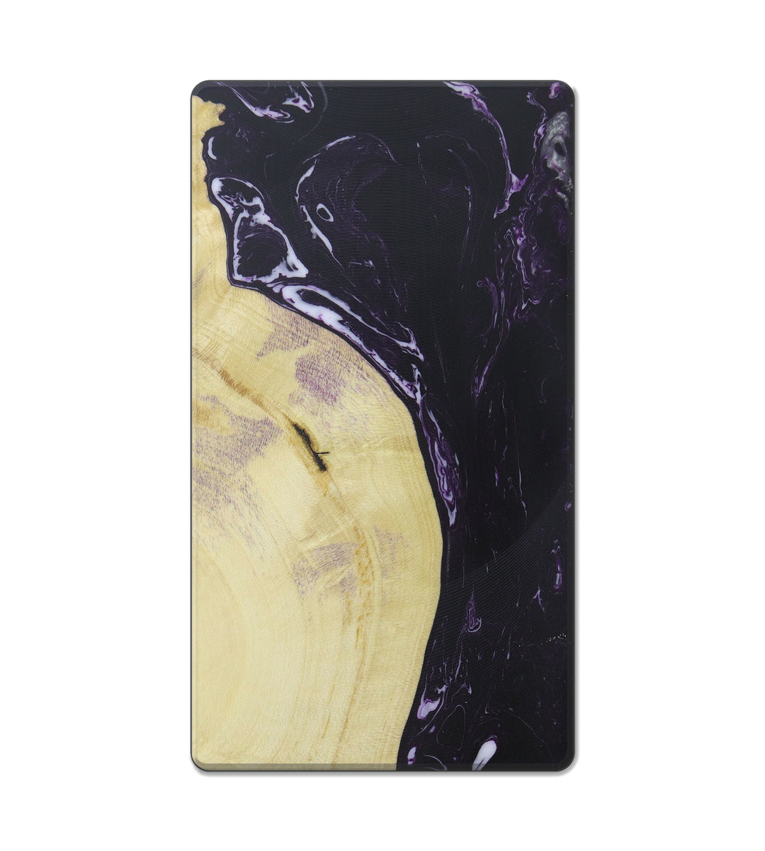 Custom Block Wood+Resin Live Edge - Zora (Purple, 407674)