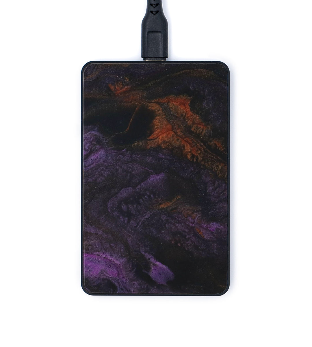 Thin Wireless Charger - Abigale (Teal & Gold, 346391)