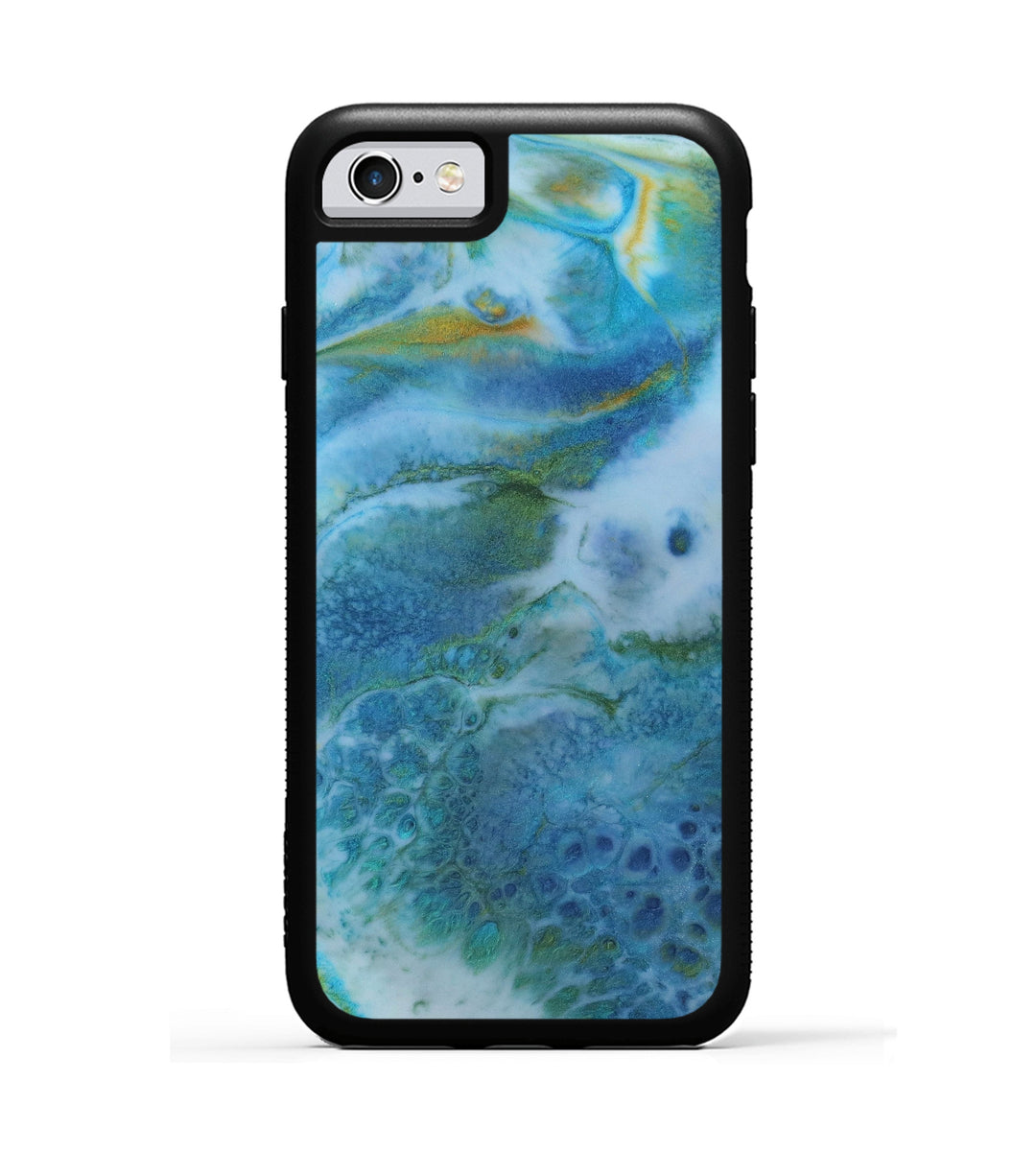 iPhone 6s ResinArt Phone Case - Marcellina (Teal & Gold, 347562)