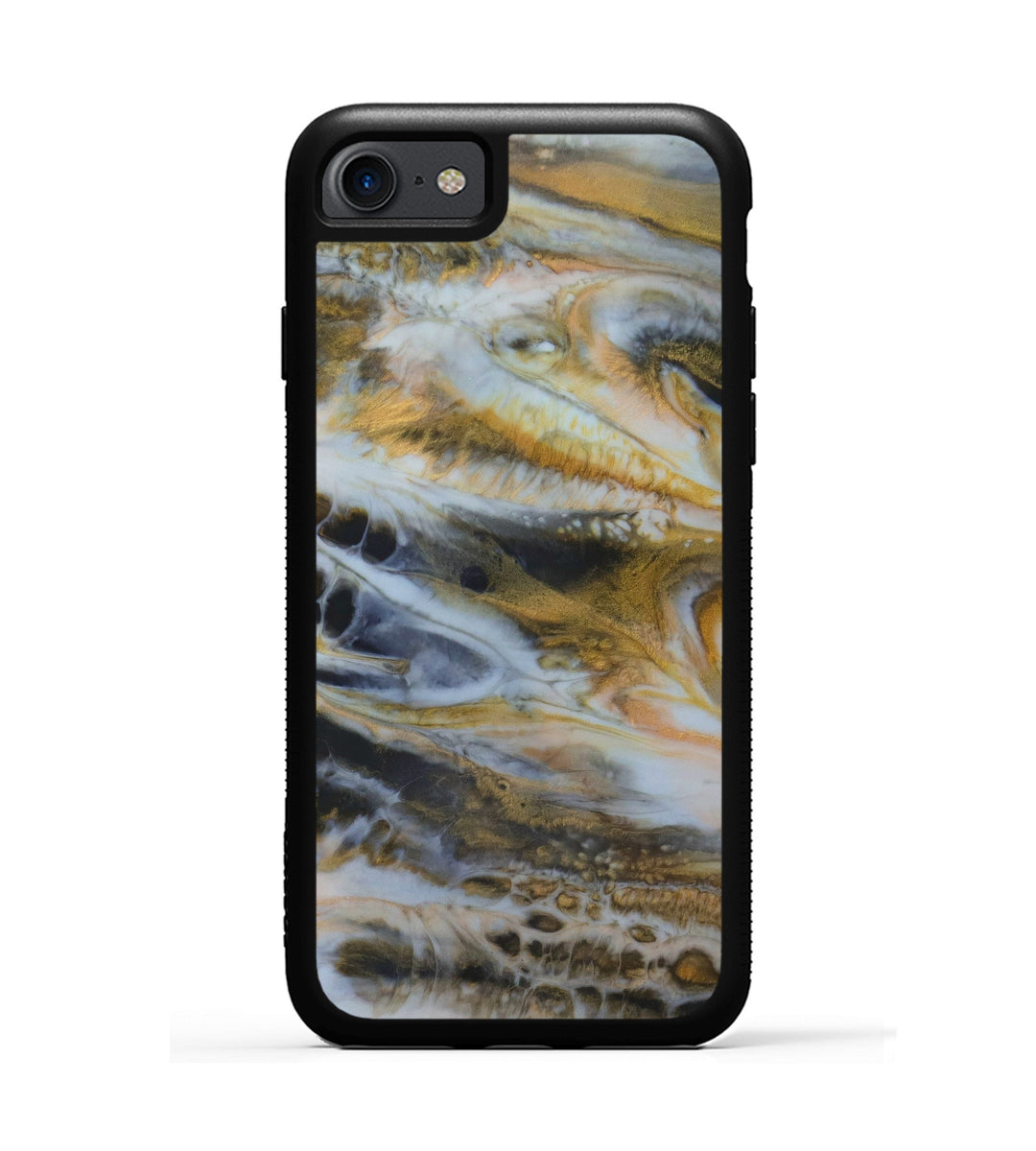 iPhone 7 ResinArt Phone Case - Cammi (Black & White, 347539)