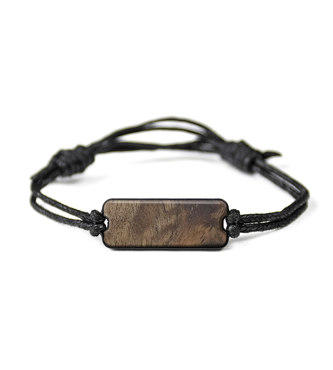 Classic Wood+Resin Bracelet - Melvin (Walnut Burl, 367163)