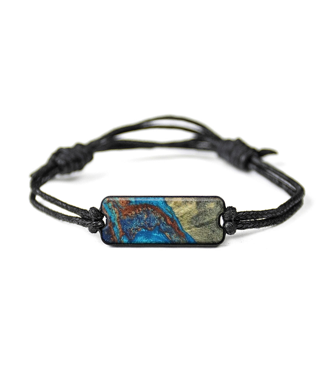 One of a kind Bracelet - Yao (Teal & Gold, 342507)