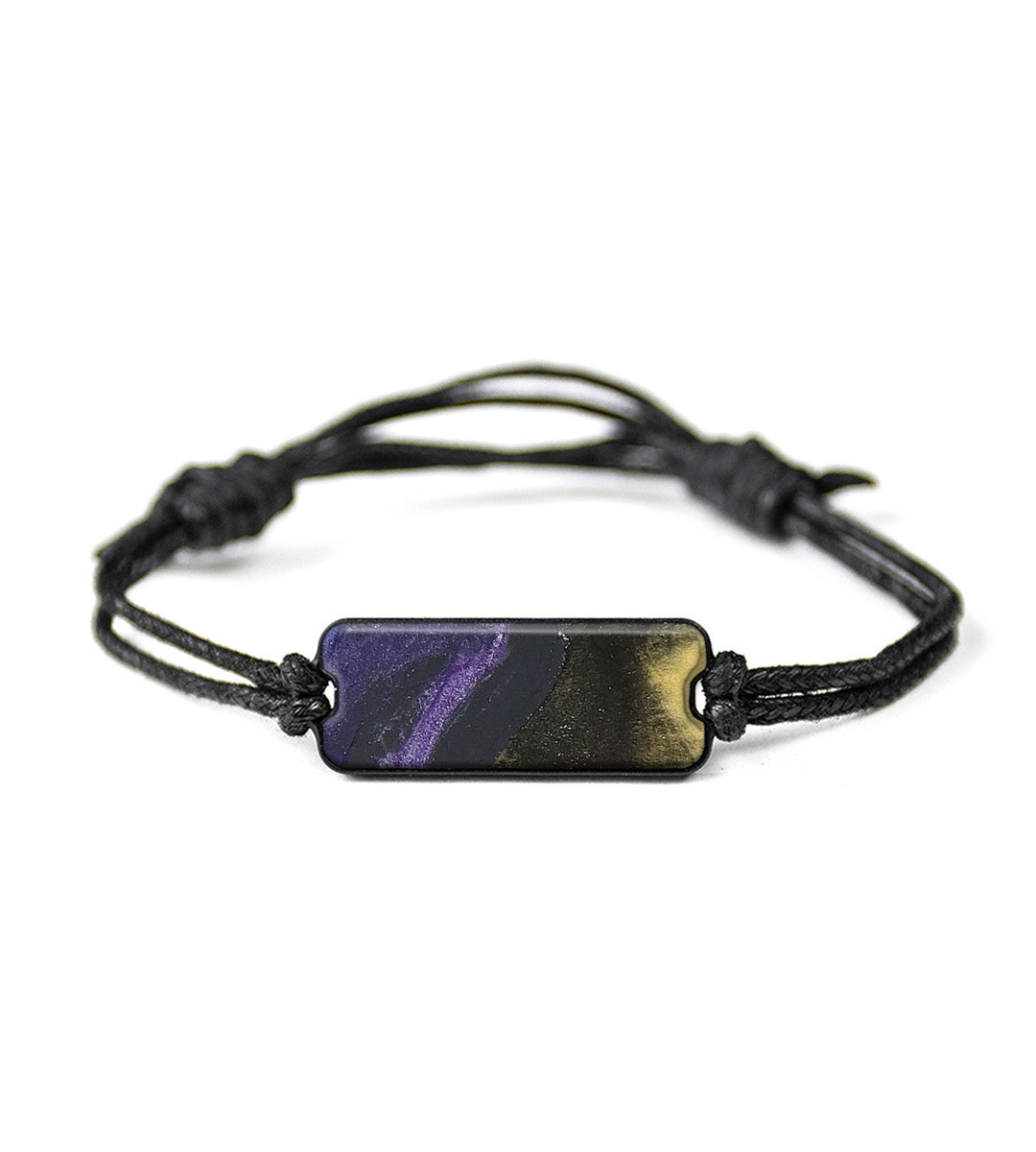 Classic Wood+Resin Bracelet - Duc (Purple, 348608)