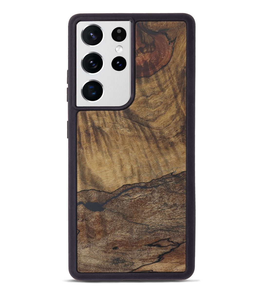 Galaxy S21 Ultra Burl Wood Phone Case - Cathryn (Maple Burl, 408428)