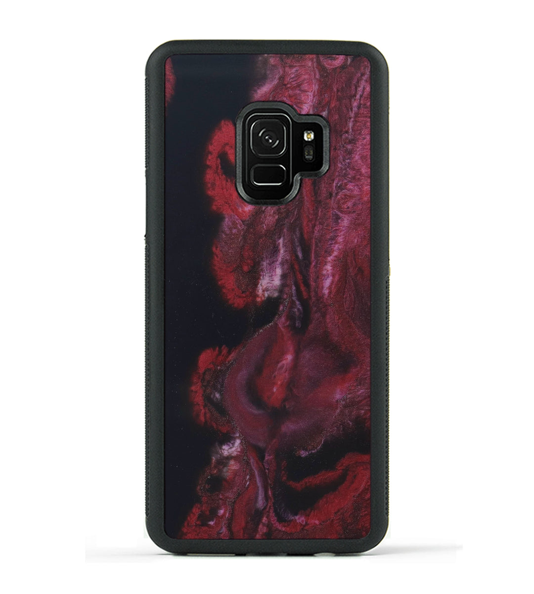 Galaxy S9 ResinArt Phone Case - Wladyslaw (Dark Red, 347669)
