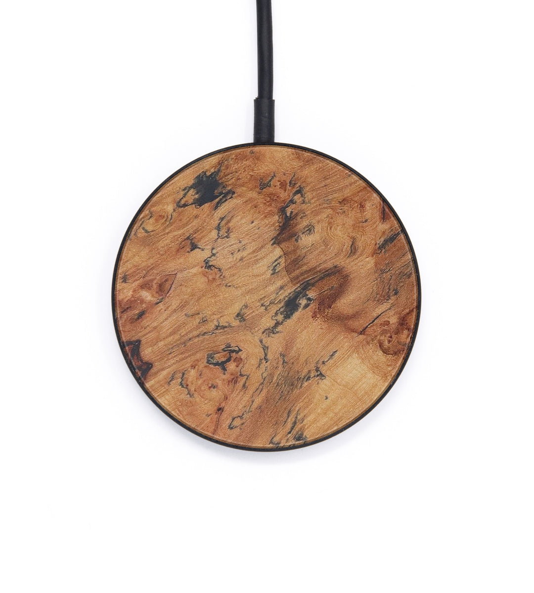 Circle Burl Wood Wireless Charger - Khamdy (Maple Burl, 408762)