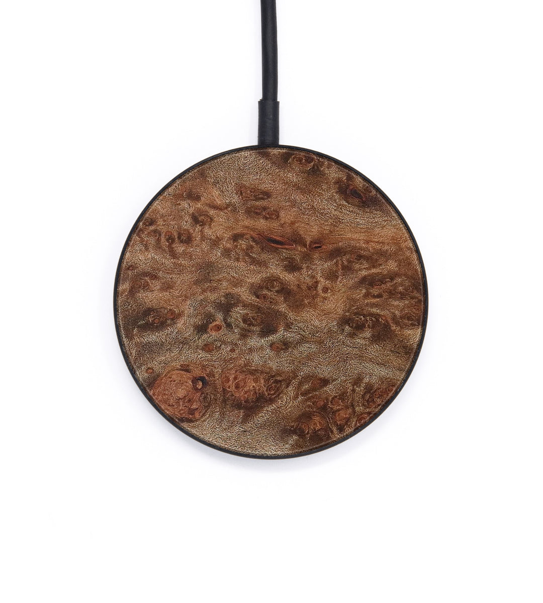 Circle Wood+Resin Wireless Charger - Chiquita (Maple Burl, 386200)