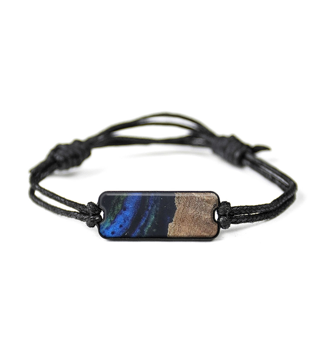 Classic Wood+Resin Bracelet - Sianna (Dark Blue, 423114)