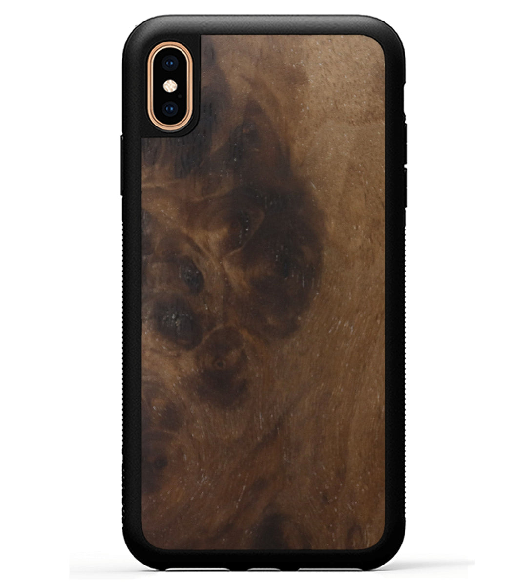 iPhone Xs Max Wood+Resin Phone Case - Babette (Walnut Burl, 367170)