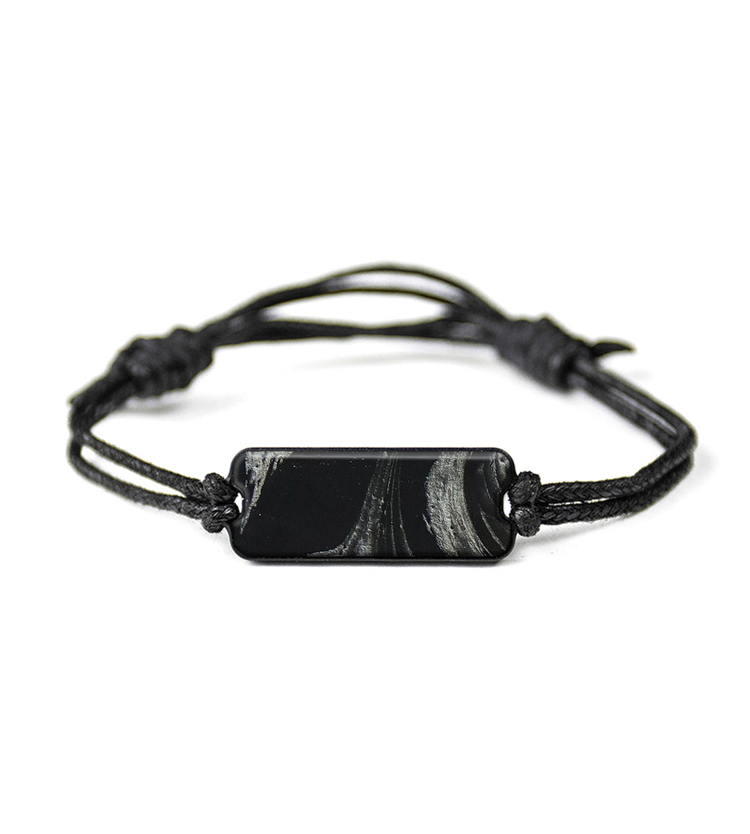 Classic ResinArt Bracelet - Veronique (Black & White, 394147)