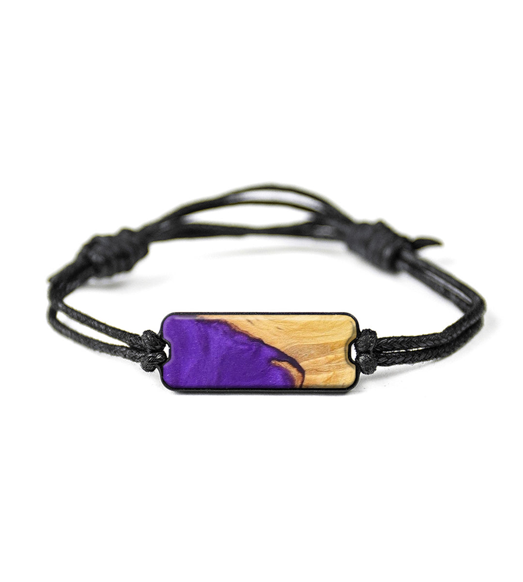 Classic Wood+Resin Bracelet - Dasha (Purple, 394028)