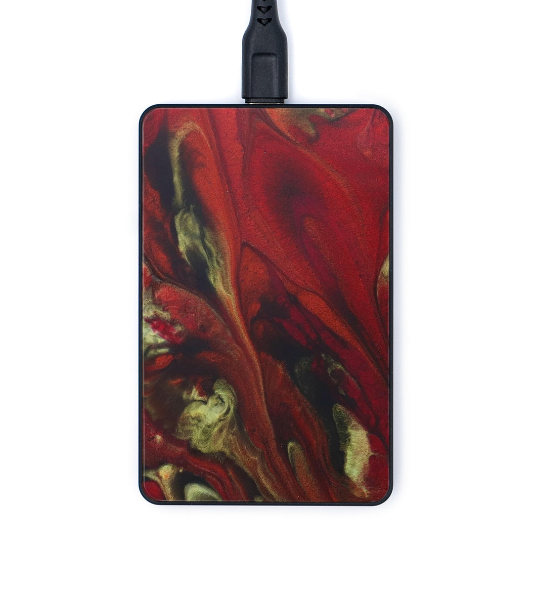 Thin Wireless Charger - Kissiah (Dark Red, 345583)
