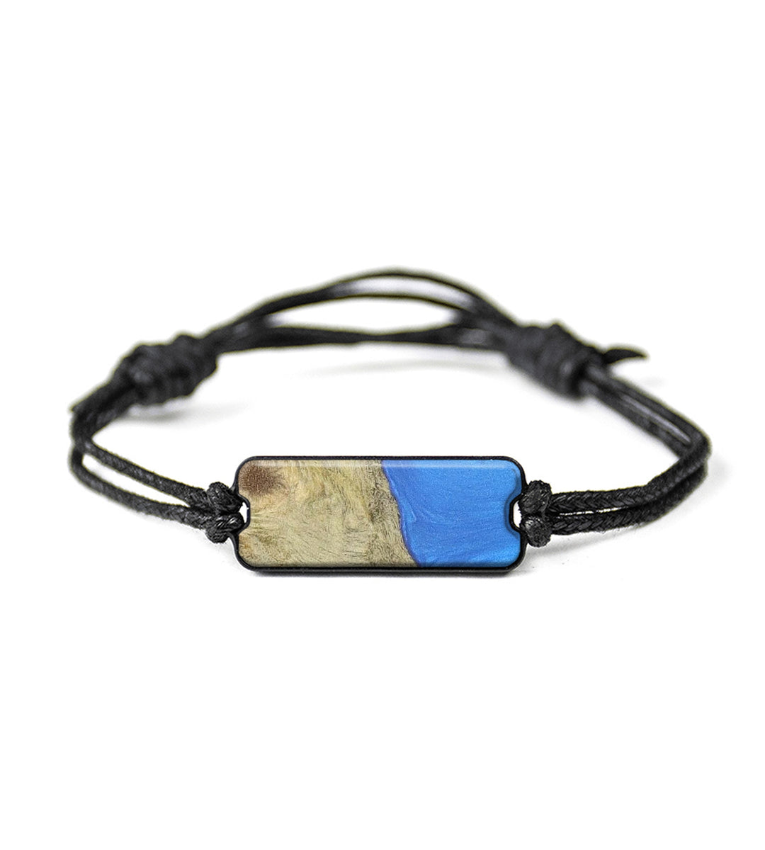 Classic Wood+Resin Bracelet - Adi (Light Blue, 358334)