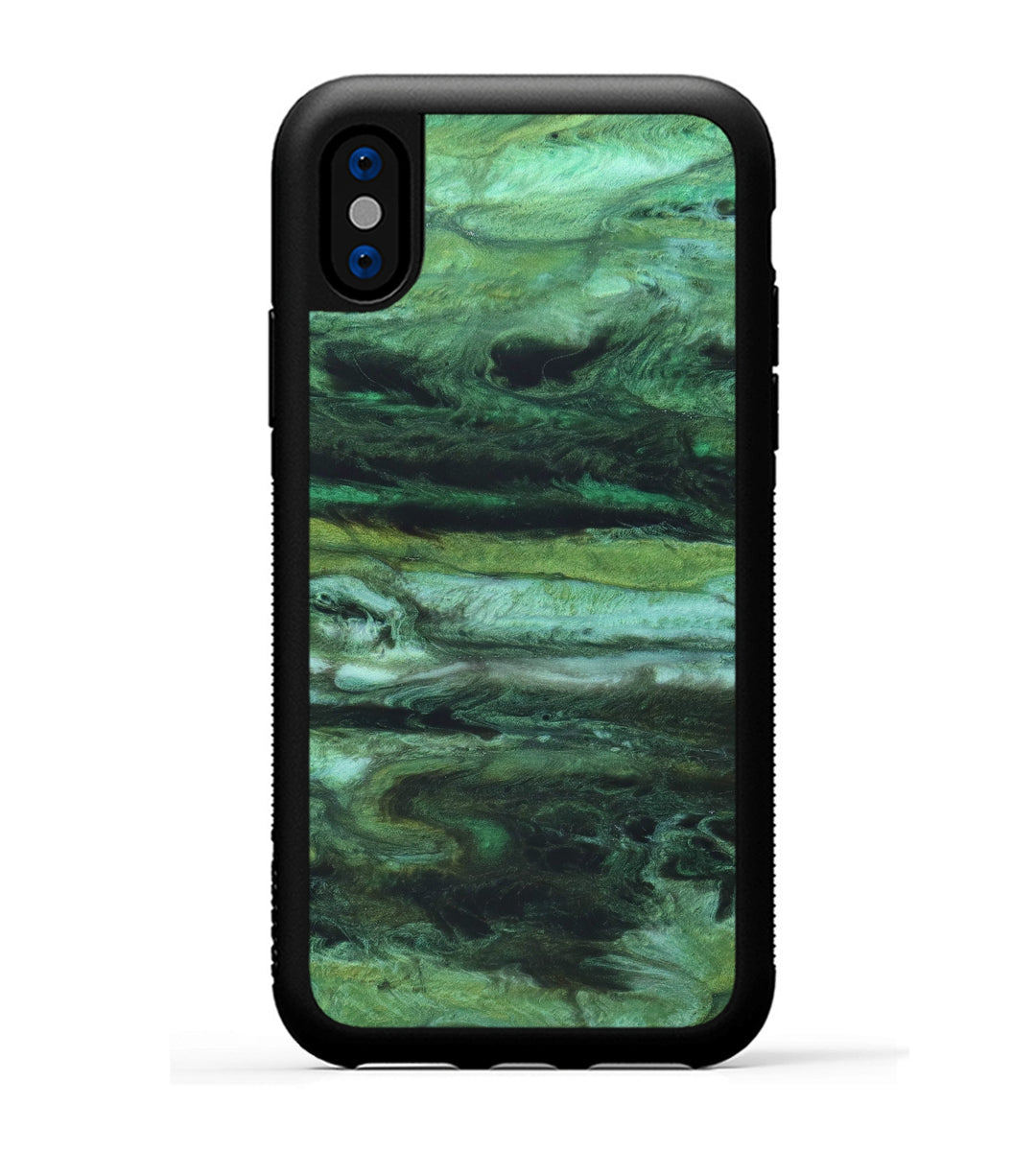 iPhone Xs Case - Krier (Dark Green, 346695)