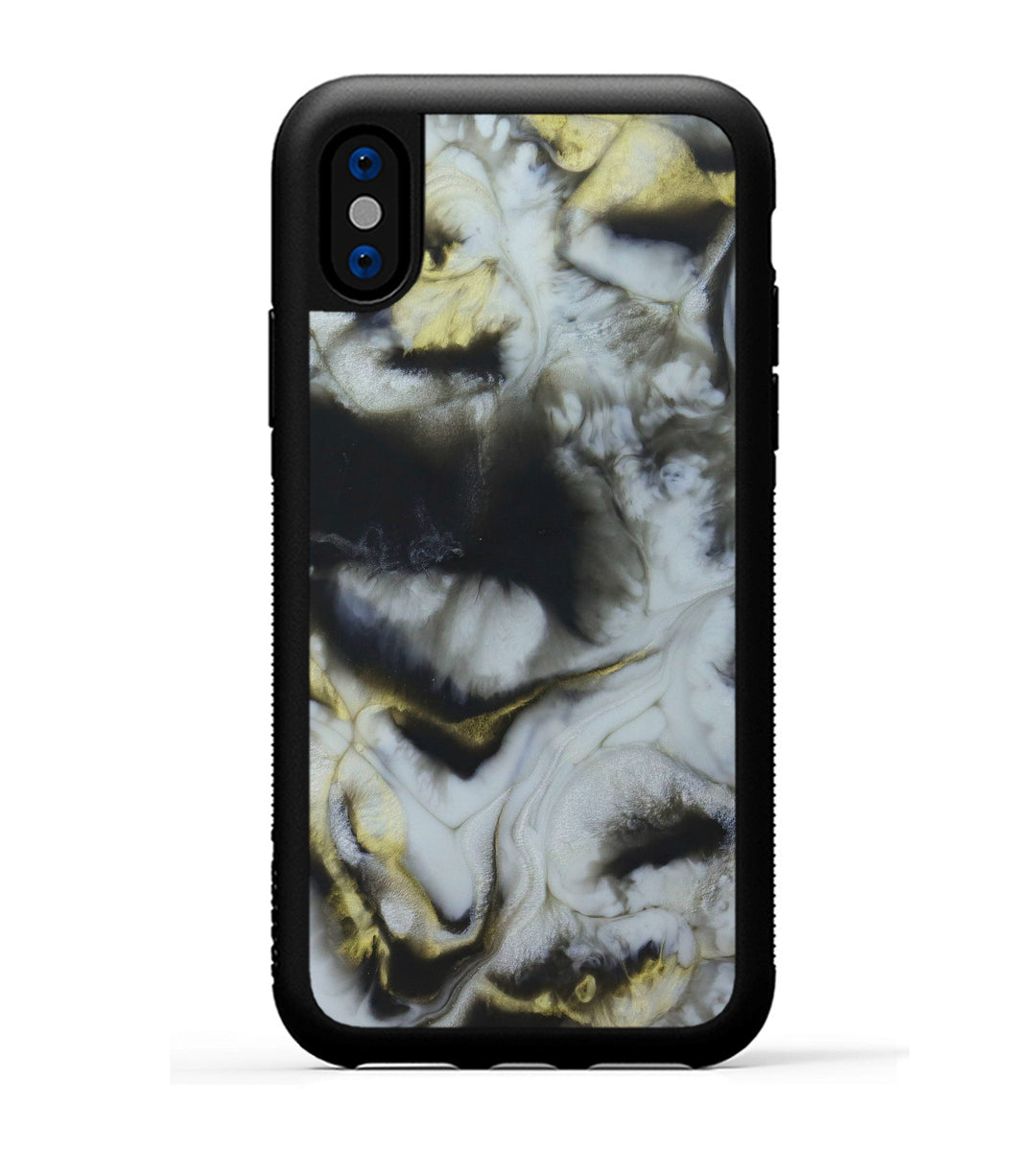 iPhone Xs Case - Vallipuram (Black & White, 345610)