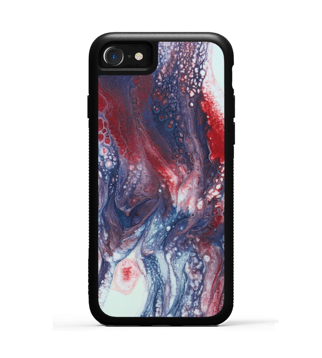 iPhone 8 Case - Nari (Blue & Red, 346379)