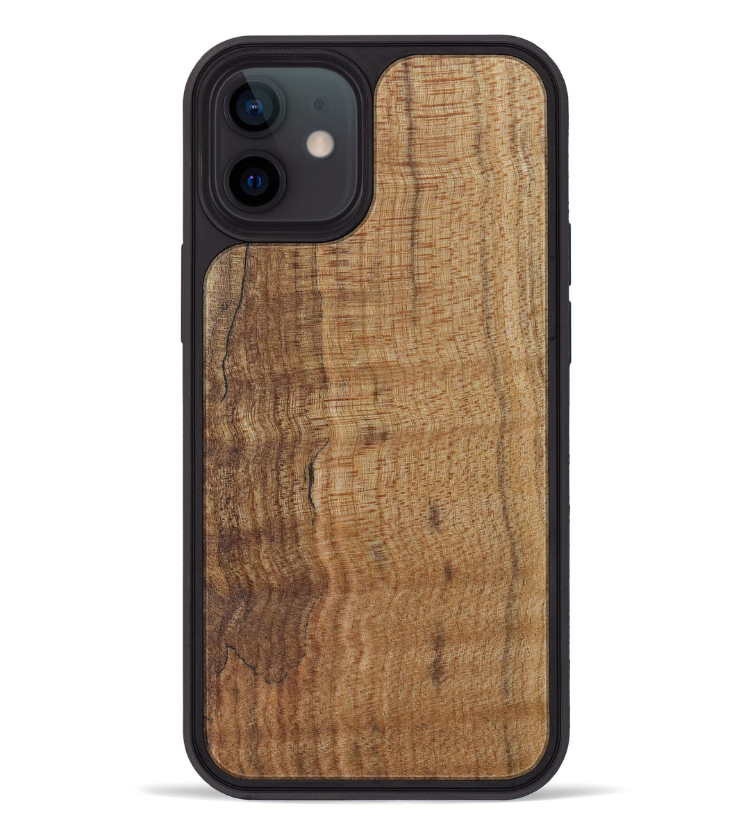 iPhone 12 Burl Wood Phone Case - Hollie (Maple Burl, 420052)