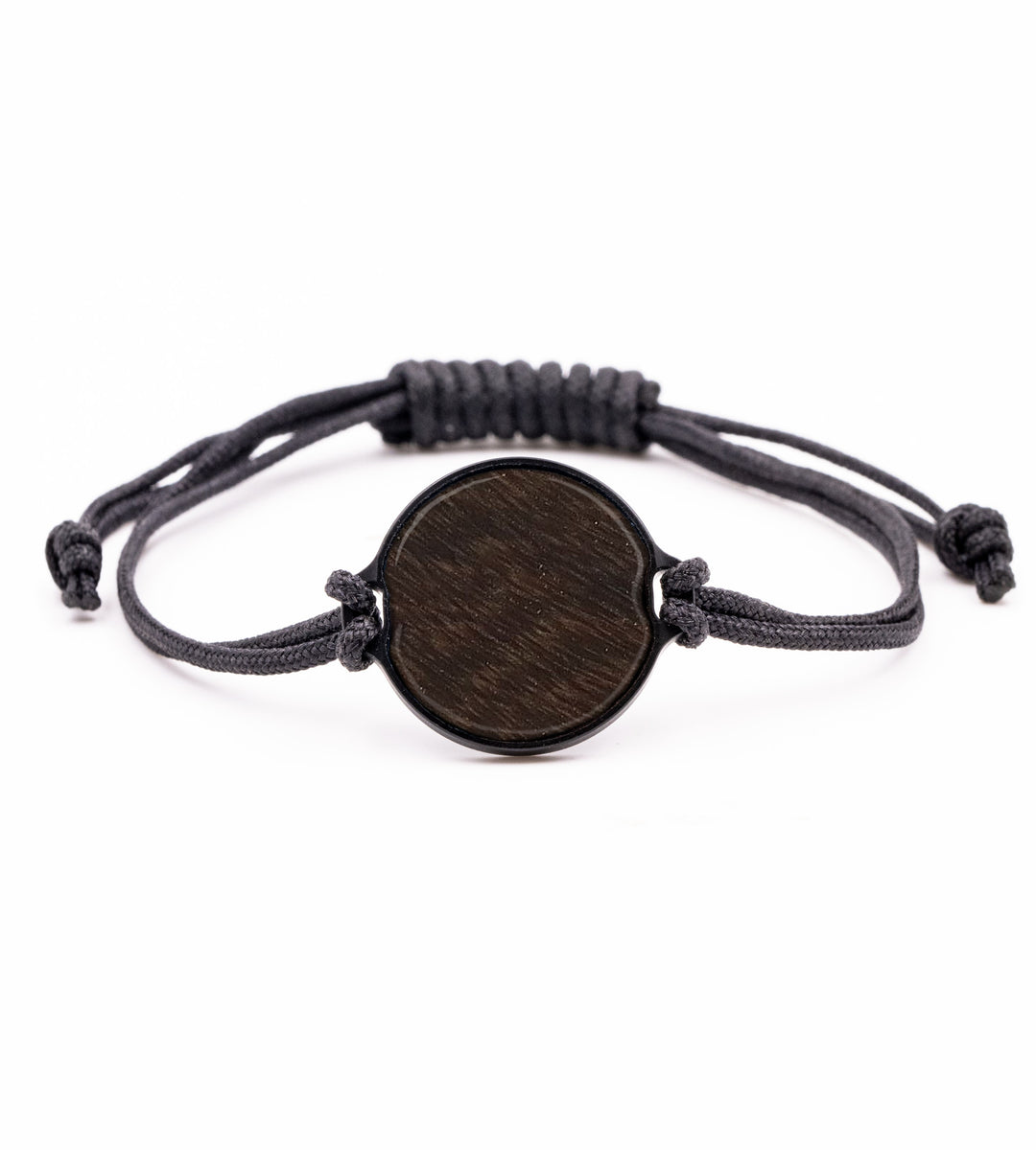 Circle Burl Wood Bracelet - Sabina (Walnut Burl, 423118)